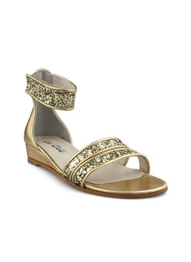 Cicibebe Rugan E Kız Çocuk Sandalet Bronz